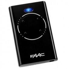 Пульт для шлагбаума FAAC XT4 868 SLH черный